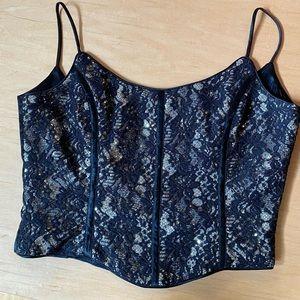 Vintage 90's glam corset